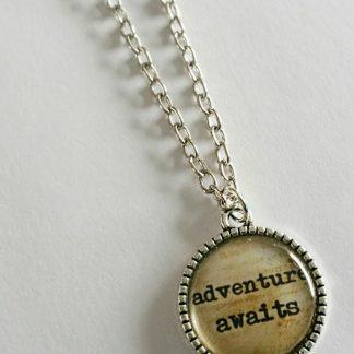 adventurer necklace backpacking necklace